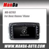 Manda OEM car dvd player for Benz Viano 2004 2005 2006 2007 2008 2009 2010 2011 car dvd auto parts