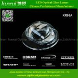led optical glass lens for tunnel light(KR86A)