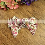 2016 New Fashion cotton knot messy bow baby girls headband