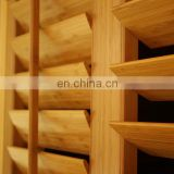 Bamboo shutters - Solid window blind