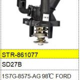 For FORD Thermostat and Thermostat Housing 1S7G-8575-AG