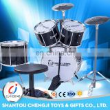 Battery operated musical instrument plastic kids jazz drum set professional