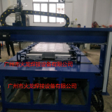 Automatic spot welding machine for sheet metal shell of energy automobile battery