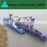 Hydraulic Cutter Suction Dredger for Lake Cleaning
