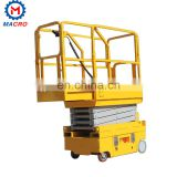 Alibaba China Mobile Scissor Car Lift/aluminum Hydraulic Scissor Lift/manual Scissor Lift Platform 3000a