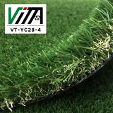 Best Price 4 color Artificial Grass for Landscaping U Shape Garden Green Lawn Residents VT-YC28-4