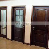 Hollow core interior wood door design