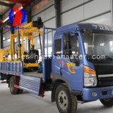 XYC-3 vehicle-mounted hydraulic core drilling rig/rock core drilling machine