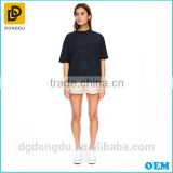 Hottest Sale Casual Lady Black New Style T shirt Wholesale China Factory