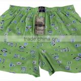 Cartoon, MEN boxer short, pantalones, unter hose