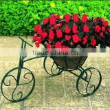 Tricycle Bike Flower Basket Plant Stand/metal bike planter