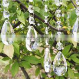 Popular clear crystal beaded garland