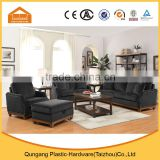 best selling high quality 1+2+3 living room sofa set with ottoman                                                                         Quality Choice