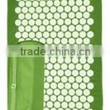 High quality ECO natural back pain relief massage acupressure mat