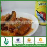 Canned fish factory supply canned sardines in tomato sauce