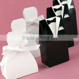 Black Tux&White Gown wedding favor boxes