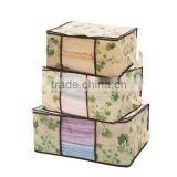 Large Plastic Clothes Storage Boxes/Visuality Quilt Organizer