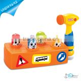 Hit the Groundhog Hammer Baby Educational Musical Toy