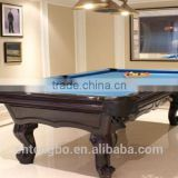 Popular American style high quality cotton flannel cloth snooker table billiards pool cue
