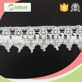 Eyelash lace trim beautiful flower mesh fabric chemical lace                                                                                                         Supplier's Choice