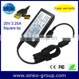 Genuine AC Charger 20V 2.25A 45W for Lenovo IdeaPad Yoga 11 Convertible Ultrabook