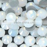 White opal hot fix rhinestone, Iron-on Rhinestone, Transfer Crystal Strass Stone for Garment