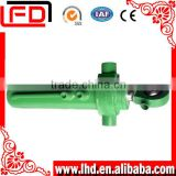 Marine crane two-way hydraulic piston cylinder