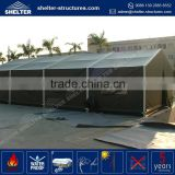 Hot selling waterproof, flame redartant, UV-resistant tent desert used tent house structures framework