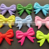 Fashion Mixed Colorful Plastic Acrylic Solid Bows beads for Chunky Necklace Jewelry