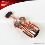 Hot sell zinc-aluminum alloy plating copper modern wine opener                                                                         Quality Choice