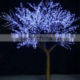 Artificial led white cherry tree