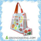 Full Color Printed PET Recycle Bag from Plastic Bottles                                                                         Quality Choice