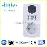 single phase cooking electrical timer, electric digital event electrical timer switch outlet