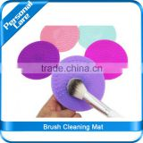 Silocone Make up Brush Cleaning Mat cosmetics