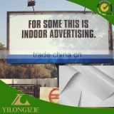 Hanging advertising blackout pvc flex banner