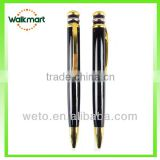 2015 High quantity metal pen/Sunrise Metal twist-action ballpen/black ballpoint pen