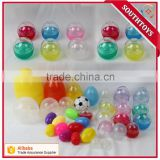 Many size of plastic capsule ball for vending machine