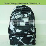 High quality chargeable solar hydration polyester backpack