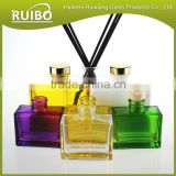 Glass bottle factory wholesale reed diffuser 100ml glass bottle with cork stopper