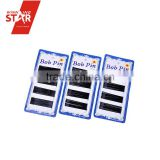 Winning star wholesale black metal bob pins