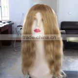 Body wave #27 16 inches 100% Chinese remy human hair lace wigs accept customer order