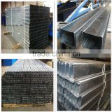 High Quality light gage steel structure metal stud and tracks / furring channel/wall angle with factory price