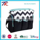 Portable Diaper Yummy Mummy Bag with Safety Sealed Changing Pad