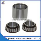 nylon cage retainer chrome steel taper roller bearings inch sizes LM522546/10 HH224340/10 with 107.95mm id outer & inner rings