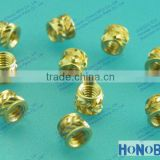 M2 Brass inserts for post-mold installation