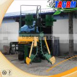 Hydraulic system mini combine sugar cane harvestter/sugar cane harvesting machine with top chopper for sale
