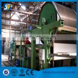 787mm-2100mm small type Tissue paper machine,1-6T/D, waste paper, pure wood pulp