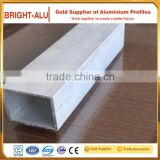 Different shape aluminum extrusion profiles section tubes aluminum pipe for furniture making