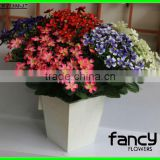 2013 hot sale 8 heads small bulk decorative artificial fabric daisy flower factory making for home&wedding decoration