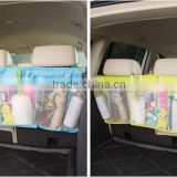Car Bask Seat Cover Organizer DVD Toys Storage Container Bags Auto Interior Gear Stuff Accessories Supplies Products